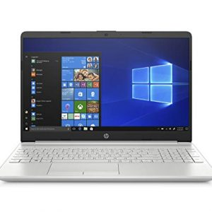 HP 15-Inch Laptop, Intel Core I5-8265U Processor, 8 GB RAM, 1 TB SATA Hard Drive & 128 GB Solid-State Drive, Windows 10 Home (15-dw0030nr, Natural Silver)