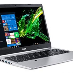 Acer Aspire 5 Slim Laptop, 15.6″ Full HD IPS Display, 8th Gen Intel Core i5-8265U, 8GB DDR4, 256GB PCIe NVMe SSD, Backlit Keyboard, Fingerprint Reader, Windows 10 Home, A515-54-51DJ